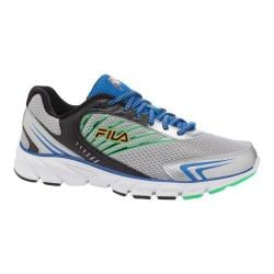 Men's Fila Fila Fresh 5 Metallic Silver/Prince Blue/Andean Toucan