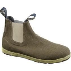 Blundstone Canvas Series Slip On Boot Khaki Canvas
