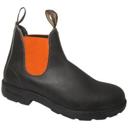 Blundstone Original 500 Series Boot Stout Brown/Burnt Orange