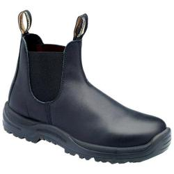 Men's Blundstone Xtreme Safety Range Slip On Boot Black Premium Oil Tanned