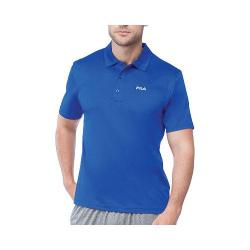 Men's Fila Performance Heather Polo Surf the Web Heather