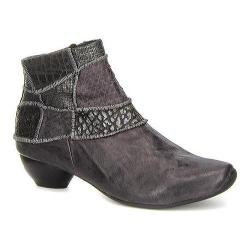 Women's Think! Aida 85253 Bootie Antrazit/Kombi Leather