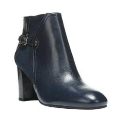Women's Franco Sarto Deora Ankle Boot Dark Blue Premium Plus Apache/Stretch Suede Punto