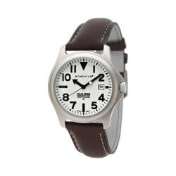 Men's Momentum Watch Atlas TI Cloud Leather Watch White/Brown Cloud Leather