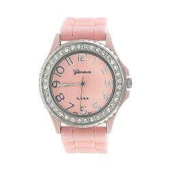 Women's Silver Bin SW-6886-4 Light Pink Silicone/Light Pink