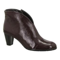 Women's ara Tricia 43408 Burgundy Crinkle Patent