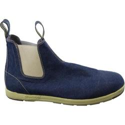 Blundstone Canvas Series Slip On Boot Navy Denim Canvas