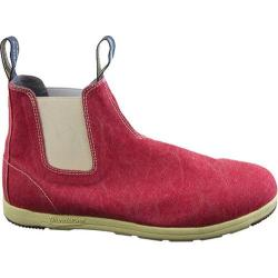 Blundstone Canvas Series Slip On Boot Red Canvas