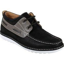 Men's Arider 224183 Boat Shoe Black/Grey PU