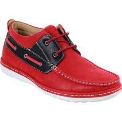 Men's Arider 224183 Boat Shoe Red PU