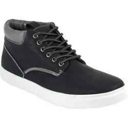 Men's Arider Bob-01 High Top Sneaker Black PU