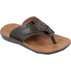 Men's Arider Cole-01 Thong Sandal Coffee Leather