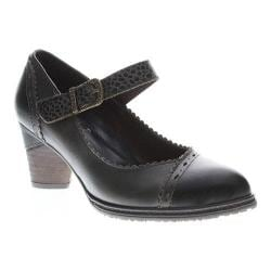 Women's L'Artiste by Spring Step Ostentatious Mary Jane Black Multi Leather