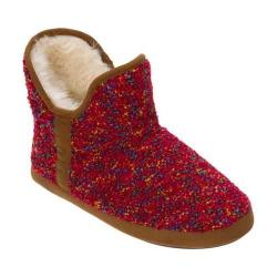 Women's Dearfoams Confetti Knit Bootie Slipper Pink