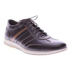 Men's Spring Step Jasper Lace Up Dark Brown Leather