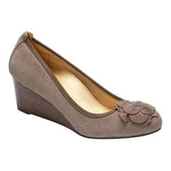 Women's Vionic with Orthaheel Technology Elevated Hayes Wedge Taupe