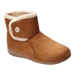 Women's Vionic with Orthaheel Technology Indulge Vanah Slipper Chestnut