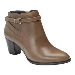 Women's Vionic with Orthaheel Technology Upright Upton Ankle Boot Taupe