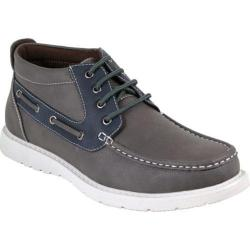 Men's Arider 224149 Moc Toe Ankle Boot Grey/Navy PU