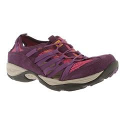 Women's Easy Spirit Ezline Dark Purple Multi Suede