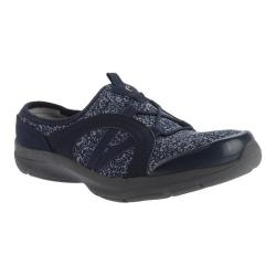 Women's Easy Spirit Quade Slip-on Navy/Light Yellow Multi Fabric