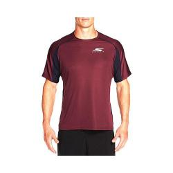 Men's Skechers Endurance Tee Shirt Wine