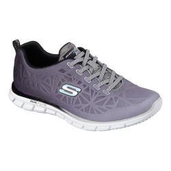 Women's Skechers Glider Zealous Sneaker Black/White