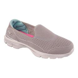 Women's Skechers GOwalk 3 Strike Walking Shoe Taupe