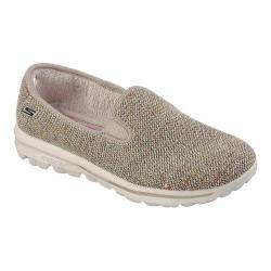 Women's Skechers GOwalk Harvest Slip On Natural