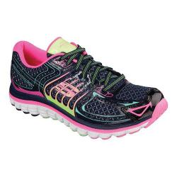 Women's Skechers Relaxed Fit Ascent Training Shoe Navy/Multi