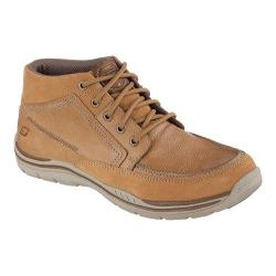 Men's Skechers Relaxed Fit Expected Cason High Top Tan