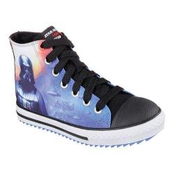 Boys' Skechers Star Wars Jagged Starfleet High Top Sneaker Black/Multi
