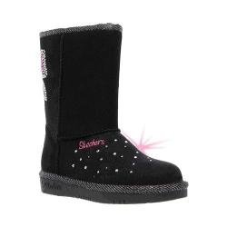 Girls' Skechers Twinkle Toes Glamslam Bow Dazzle Boot Black