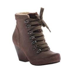 Women's OTBT Ritchie Lace up Bootie Dune Leather