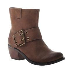 Women's Madeline Girl Doozy Ankle Boot Tan Synthetic