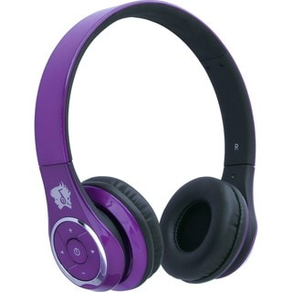 Life n soul Bluetooth Headphones Purple