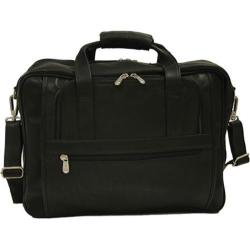 Piel Leather Large/Ultra Compact Computer Bag 2930 Black Leather