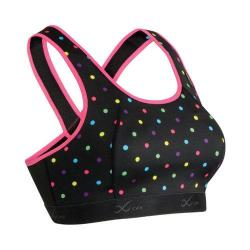 Women's CW-X Xtra Support Bra III Black/Polka Dot/Raspberry