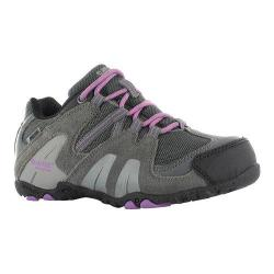 Children's Hi-Tec Aitana Low Waterproof Jr. Boot Charcoal/Grey/Orchid