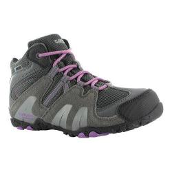 Children's Hi-Tec Aitana Mid Waterproof Jr. Boot Charcoal/Grey/Orchid