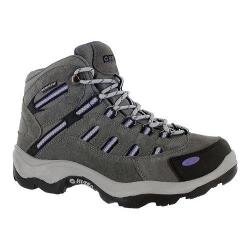 Women's Hi-Tec Bandera Mid Waterproof Boot Charcoal/Purple
