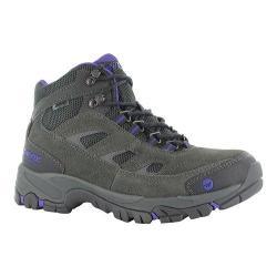 Women's Hi-Tec Logan Mid Waterproof Boot Charcoal/Purple