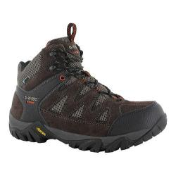 Men's Hi-Tec Sonorous Mid I Waterproof Multi-Sport Dark Chocolate/Red Rock