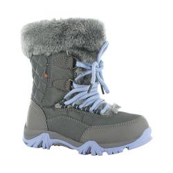Children's Hi-Tec ST Moritz Lite 200 Waterproof Jr. Boot Charcoal/Steel Grey/Lustre