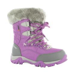 Children's Hi-Tec ST Moritz Lite 200 Waterproof Jr. Boot Orchid/Cool Grey