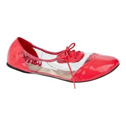 Women's Butterfly Twists Emily Flat Coral/Transparent Polyurethane