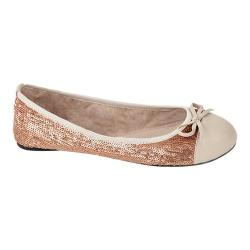 Women's Butterfly Twists Erica Flat Rose Gold Sequins
