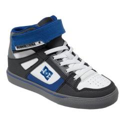 Boys' DC Shoes Spartan High EV Grey/White/Blue