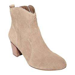 Women's Steve Madden Hipstr Ankle Boot Taupe Suede