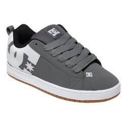 Men's DC Shoes Court Graffik Grey/White/Grey